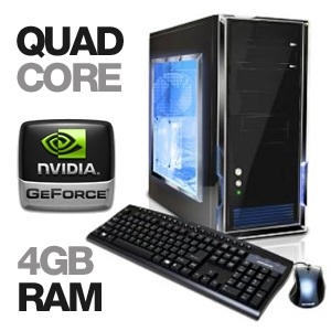iBuyPower Gamer Power 906 Quad-Core Gaming PC