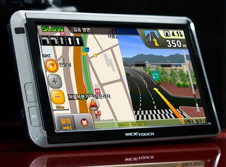 Inkel WideTouch W700 - DMB TV, GPS, PMP