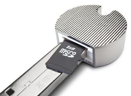 LaCie PassKey microSD reader