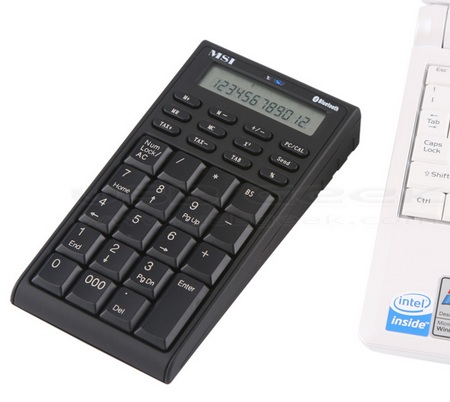 MSI Wireless Bluetooth Number-Pad / Calculator