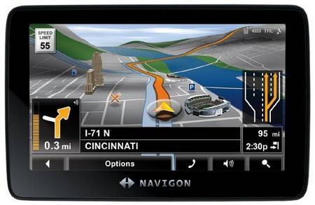 Navigon 7300T GPS Navigator
