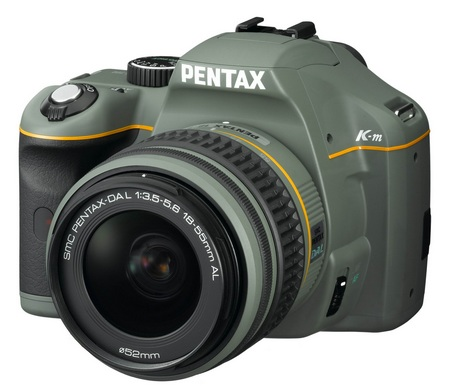 Pentax K-m Olive Limited Edition
