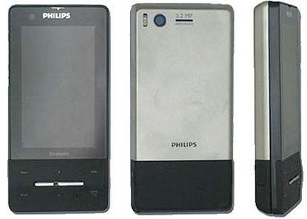 Philips Xenium X810 Touchscreen Phone