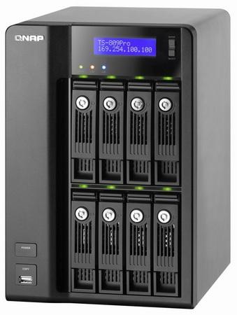 QNAP TS-809 Pro Core 2 Duo 16TB iSCSI NAS
