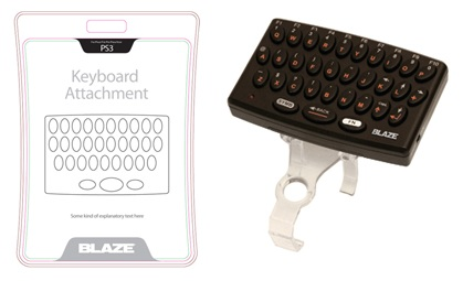 Blaze PS3 Controller keyboard