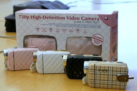 DXG Luxe Collection 720p camcorder