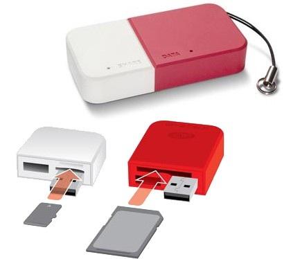 LaCie DataShare SD/microSD Card Reader