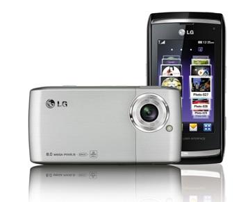 LG Viewty Smart GC900 Touchscreen Phone