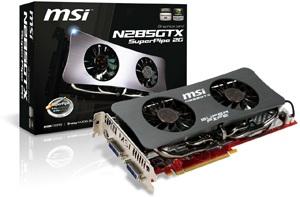 MSI N285GTX SuperPipe 2G Graphics Card