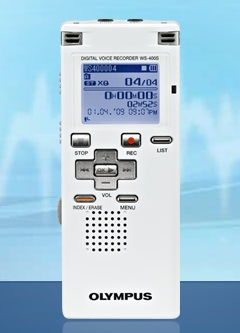 Olympus WS400S Digital Voice Recorder