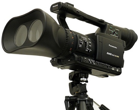 Panasonic Twin-lens P2 Professioal 3D Production System