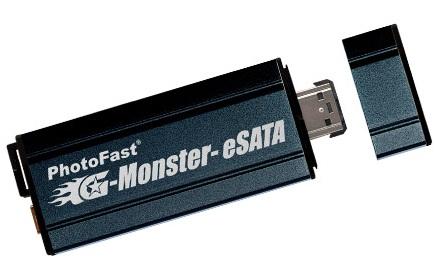 PhotoFast G-Monster eSATA SSD Drive