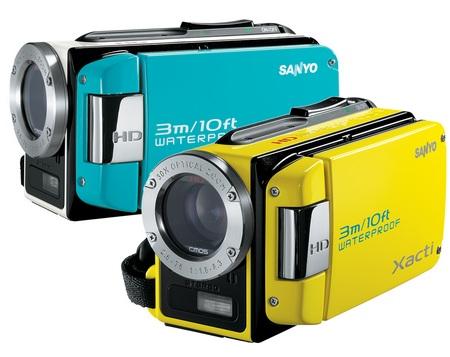 Sanyo Xacti VPC-WH1 waterproof HD camcorder