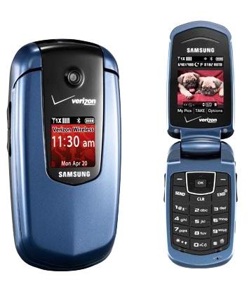 Verizon Samsung Smooth Clamshell
