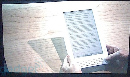 Amazon Kindle DX Leaked
