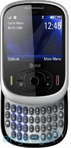 AT&T Motorola Sawgrass QWERTY slider