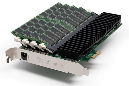 DDRdrive X1 RAM-based PCI-e SSD