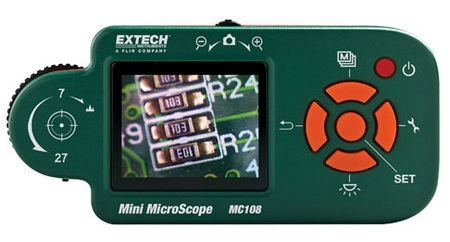 Extech MC108 Digital Mini Microscope