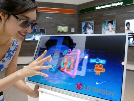 LG 23-inch Full HD 3D LCD with world's highest brightness