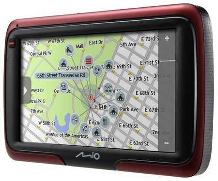 Mio Moov S501 and S401 GPS Devices