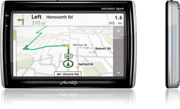 Mio Navman Spirit 500 GPS Navigation Device