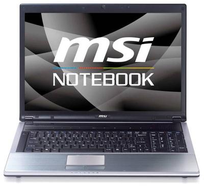 MSI EX723 Multimedia Notebook