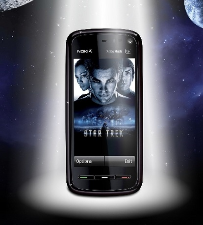 Nokia 5800 XpressMusic Star Trek edition