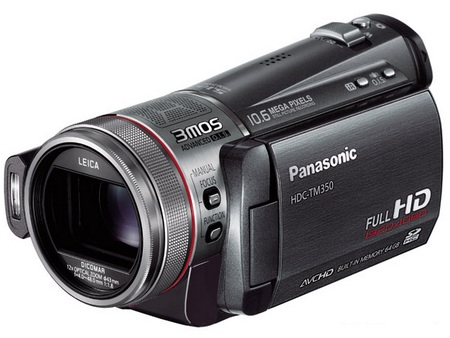 Panasonic HDC-TM350 World's Largest Capacity Full HD Camcorder