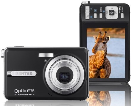 Pentax Optio E75 Digital Camera