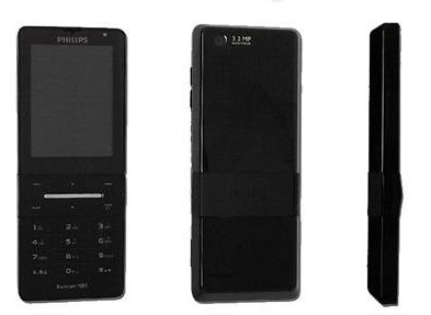 Philips Xenium X550 mobile phone