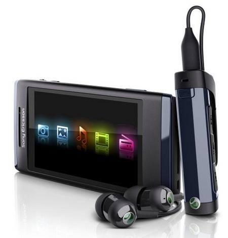 Sony Ericsson Aino Touchscreen Slider Phone