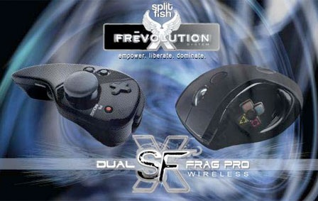 SplitFish Dual SFX Evolution and Dual Frag Pro Controllers for PS3