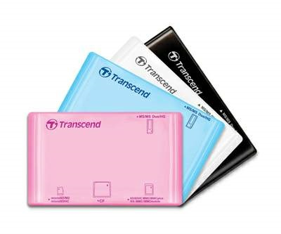 Transcend P8 all-in-one USB Card Reader
