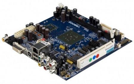 VIA VB8002 Mini-ITX Board for Media Server