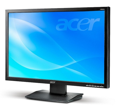 Acer V193WBbmd and V223WBbmd Eco-friendly LCD Monitors