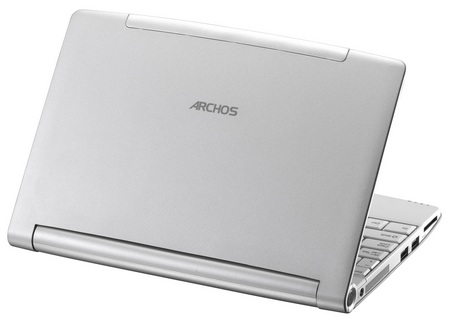 Archos 10s Netbook back