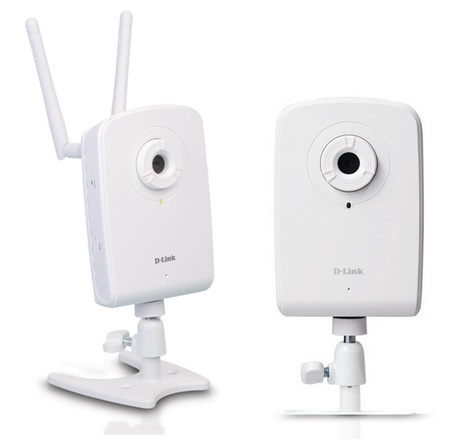 D-Link DCS-1100 and DCS-1130 Network Cameras