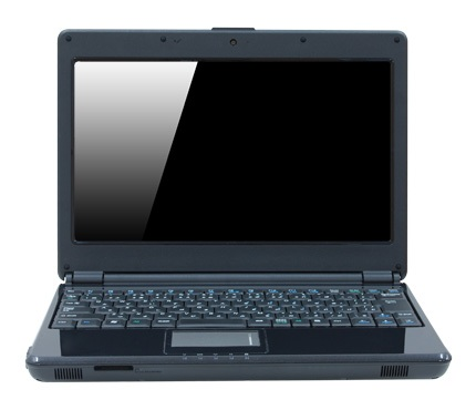 DosPara Prime Note Cresion NA Ion Notebook with DVD Burner front