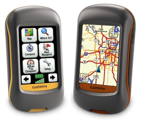 Garmin Dakota 10 and Dakota 20 handheld GPS navigators