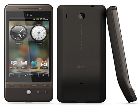 HTC Hero G3 Android Smartphone brown