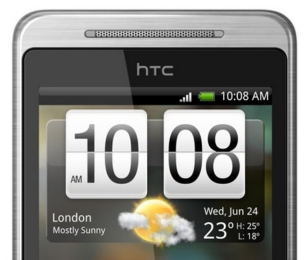HTC Hero G3 Android Smartphone top
