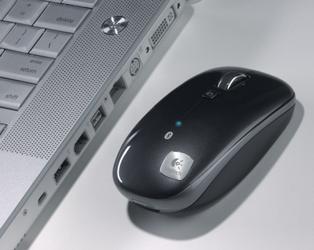 Logitech M555b Bluetooth Laser Mouse with MacBook Pro