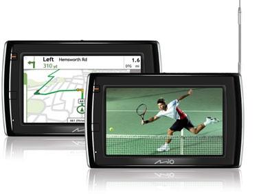 Mio Navman Spirit TV V505 GPS navigator digital TV