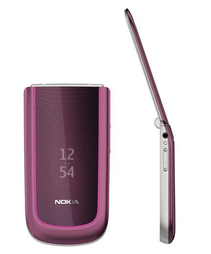 Nokia 3710 fold Clamshell Phone Pink