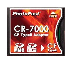 PhotoFast CR-7000 SDHC to CF Converter