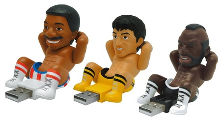 Rocky III Crunching USB Device