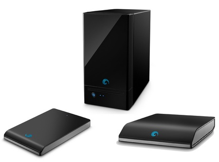 Seagate BlackArmor Family three new members