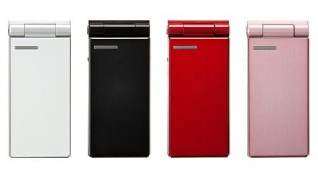 Softbank Panasonic 832P 10mm thick Clamshell four colors