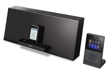 Sony NAS-Z200iR WiFi ipod audio system