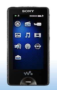 Sony NWZ-X1000 series OLED Walkman Player